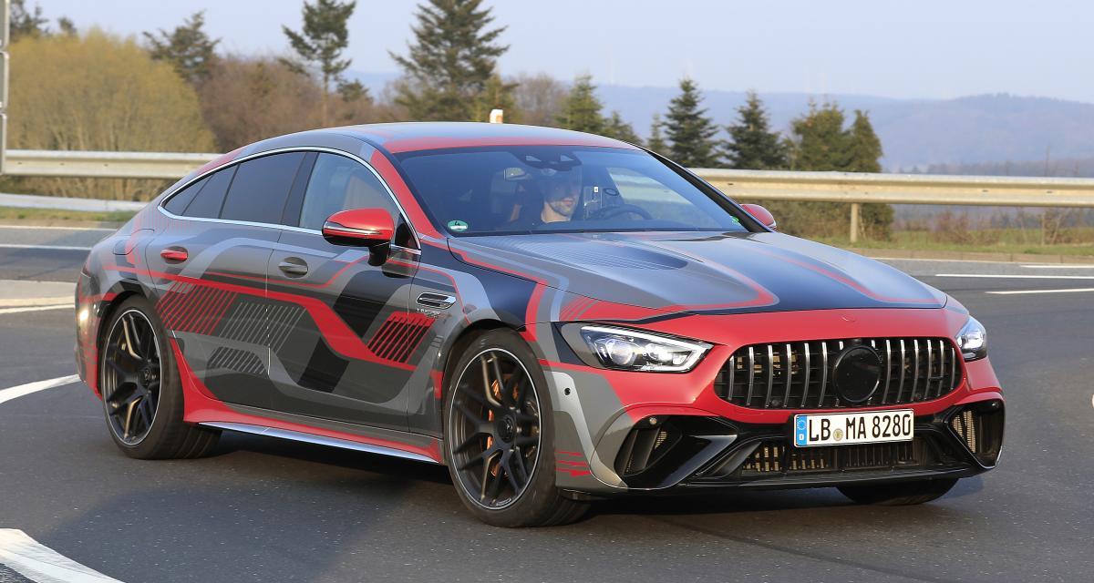 La prochaine Mercedes AMG GT 4 portes restylée sera toujours aussi énervée !