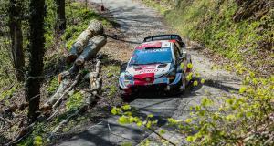 WRC, Rally de Croatie 2021 : le crash de Kalle Rovanpera en vidéo