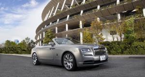Rolls-Royce s'associe à Kengo Kuma pour créer une Dawn sur mesure