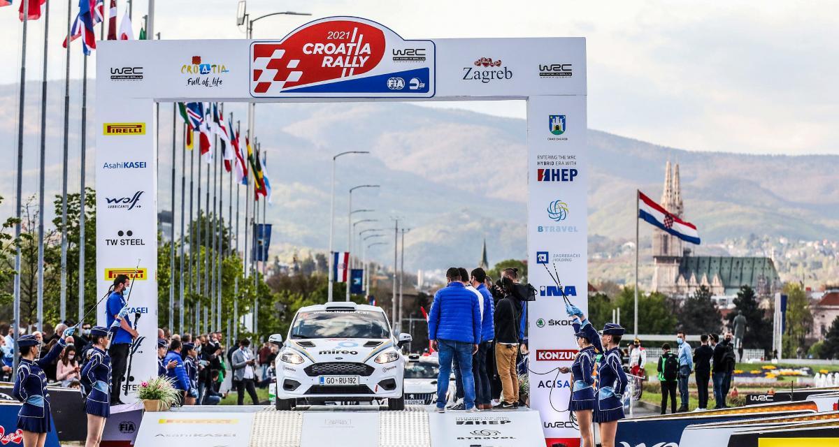 Rallye WRC de Croatie : le bilan des épreuves spéciales 1 à 4