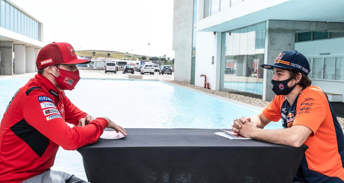 Jack Miller et Remy Gardner : les pilotes australiens de moto s'interviewent entre eux