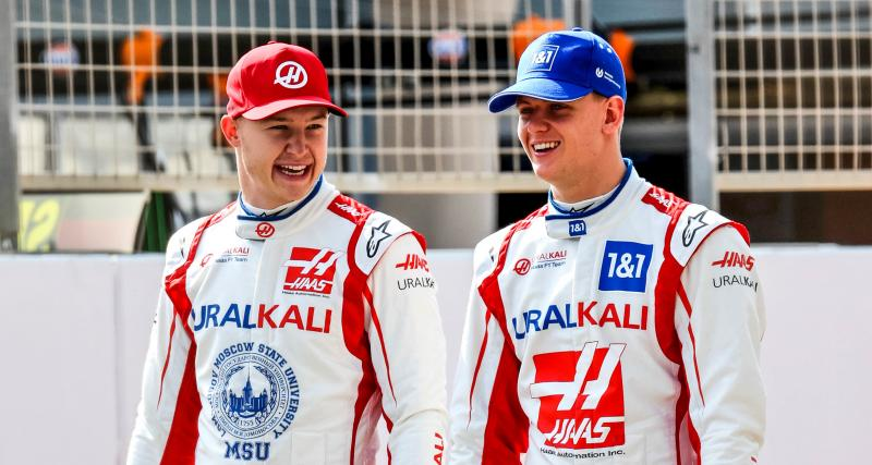 Haas F1 Team : Nikita Mazepin s'estime chanceux d'avoir Mick Schumacher comme coéquipier