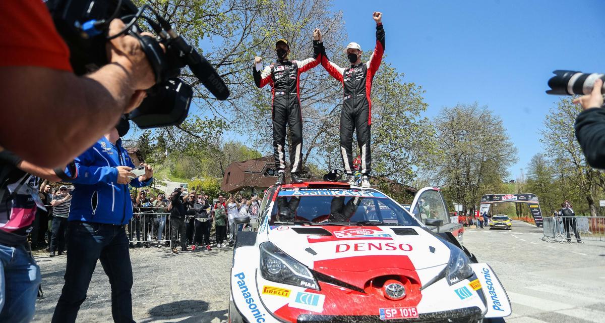 Rallye WRC de Croatie : le classement final