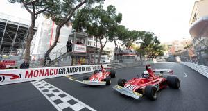 Grand Prix Historique de Monaco 2021 : les accidents d'Alesi, Caffi et Arnoux aux volants de leur Ferrari