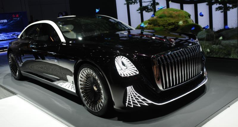 La limousine chinoise Hongqi L-Concept offre du grand spectacle