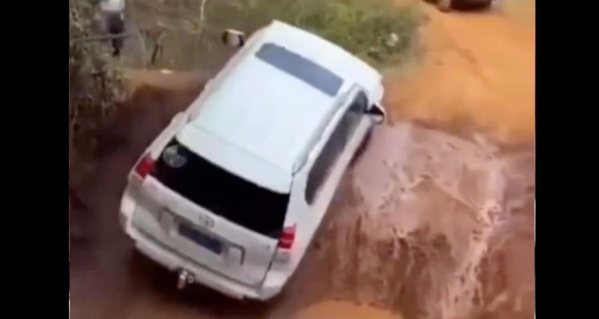 VIDEO - Vous n'avez pas trouvé plus dangereux comme passage ?