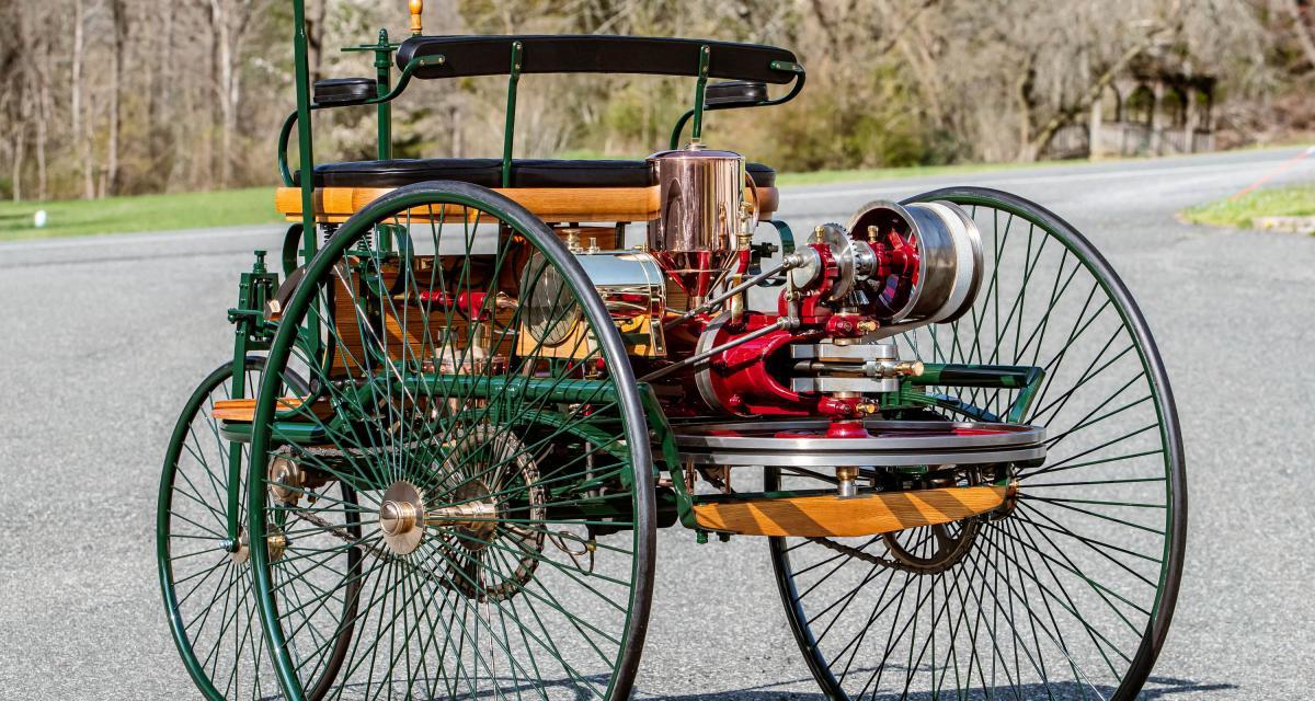 Benz Patent-Motorwagen : offrez-vous la première voiture du monde !