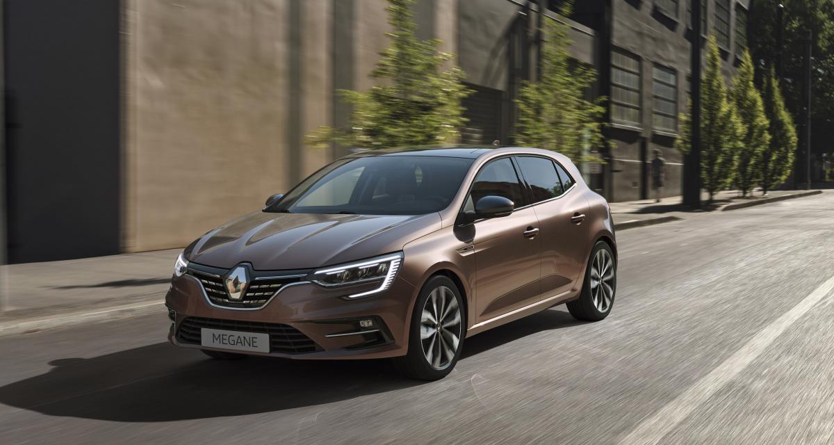 Renault Mégane IV : combien d'exemplaires vendus en 2021 ?