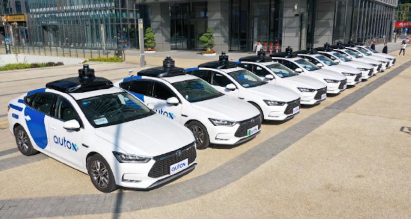 Les robots-taxis vont se développer en Chine