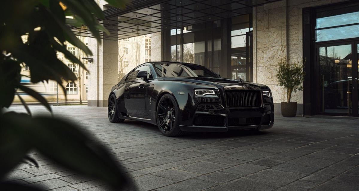 Rolls-Royce Wraith Black Badge Overdose : une sombre série ultra-limitée