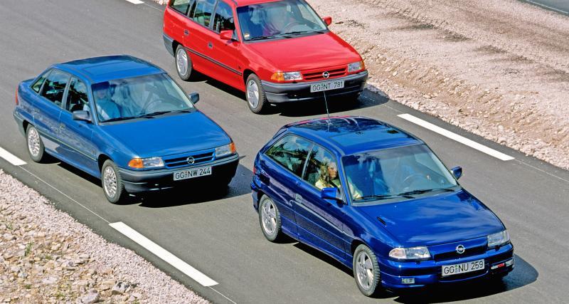 L'Opel Astra F a 30 ans : retour sur la voiture la plus vendue du constructeur allemand