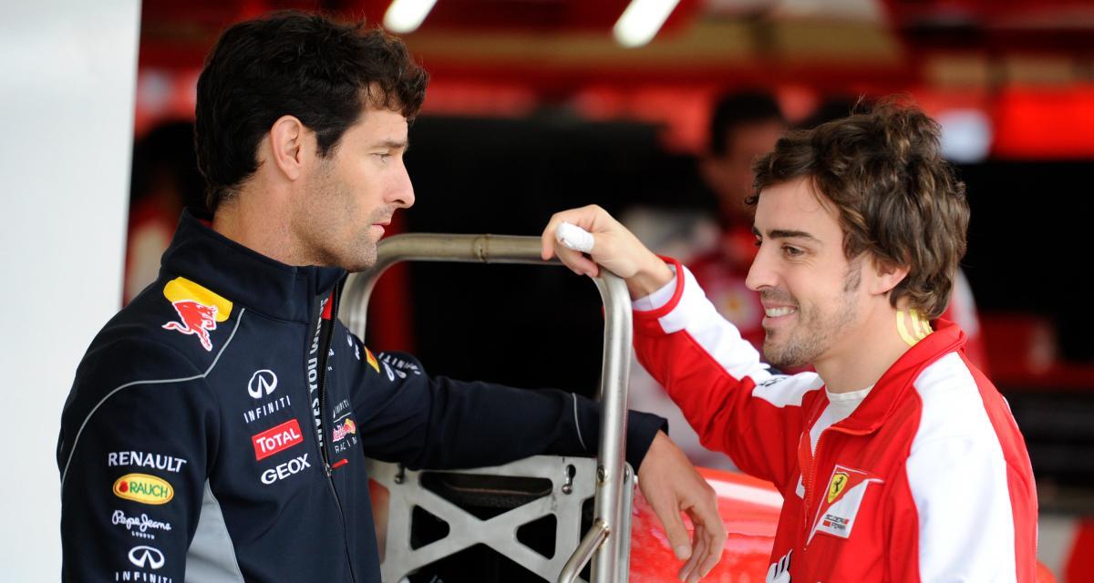 Alpine F1 Team : Alonso moins rapide et courageux ? C'est l'avis de Mark Webber