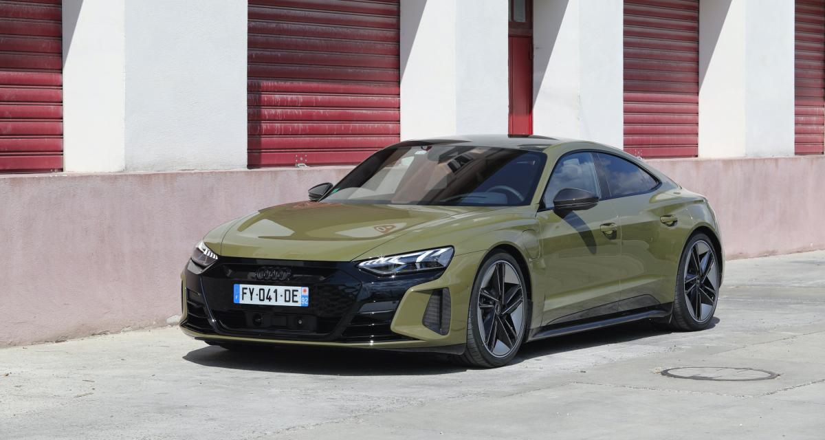 Essai de la nouvelle Audi RS e-tron GT (2021) : Tesla killer ?