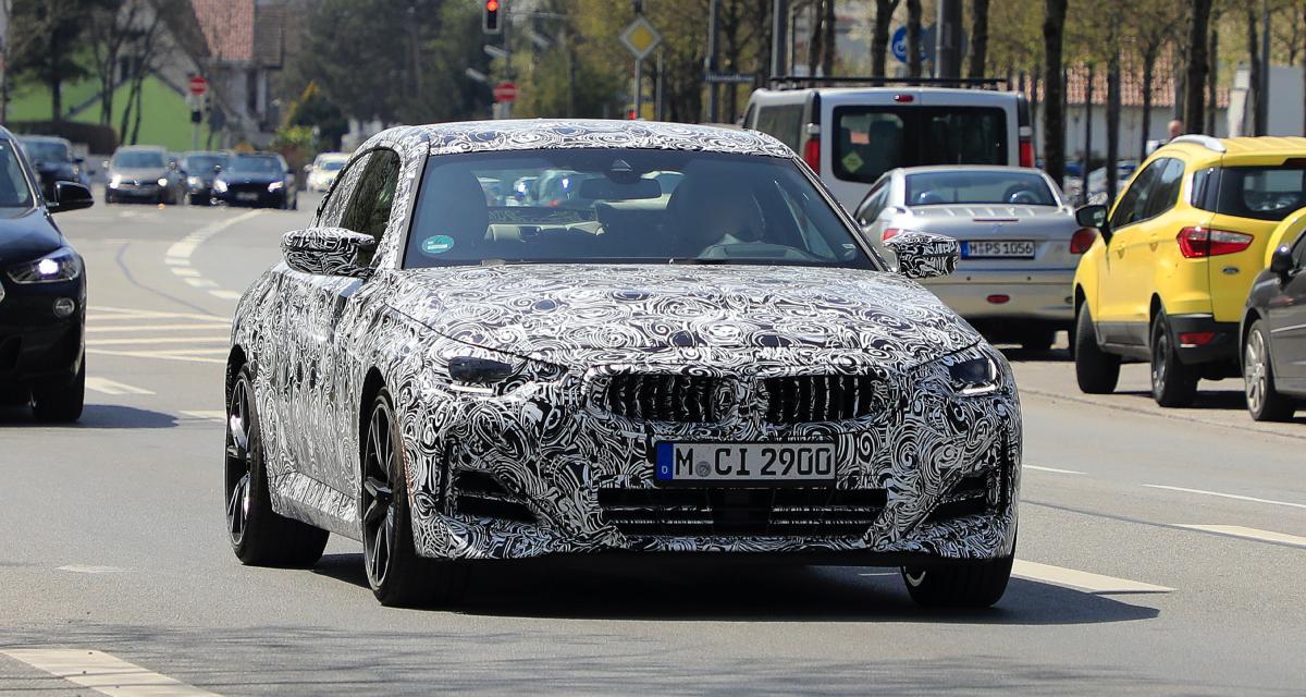 BMW Série 2 Coupé : la sportive camouflée aperçue à Munich !