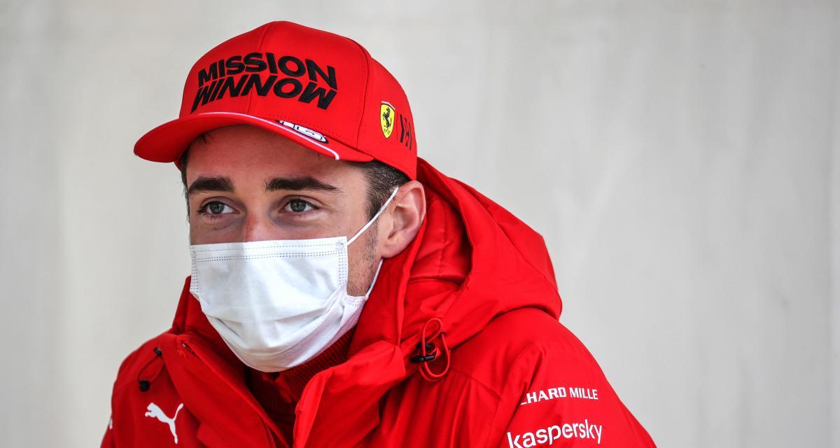Scuderia Ferrari : Charles Leclerc dévoile son casque pour le GP du Portugal