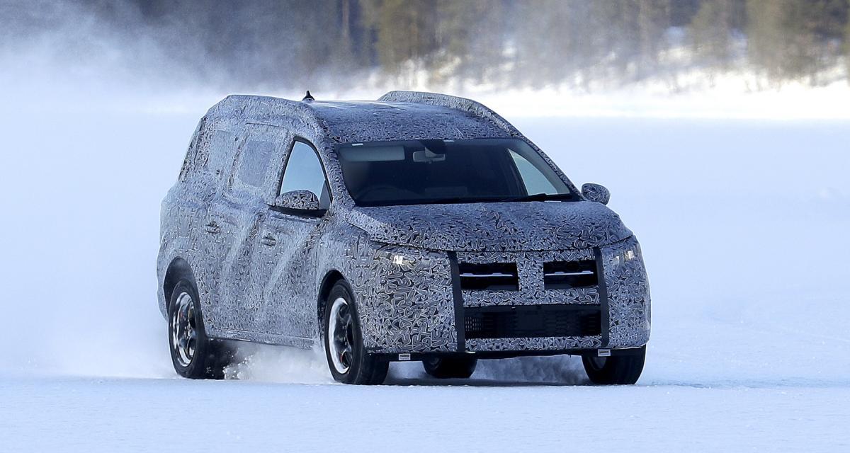 Dacia Logan MCV (2022) : le break à bas coût surpris à l'essai sur un lac gelé