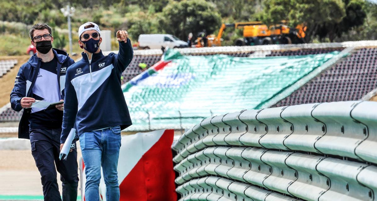 GP du Portugal de F1 : Pierre Gasly dans l'ambiance de la Ligue des Champions