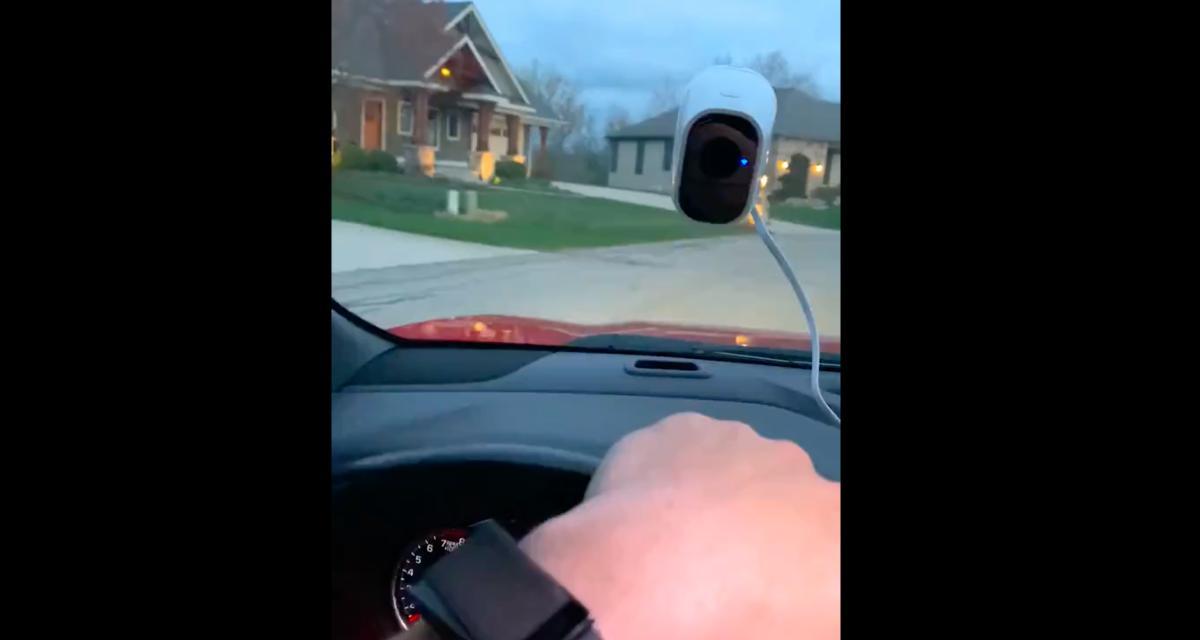 VIDEO - Mêler vidéoconférence et trajet en voiture, c'est possible !