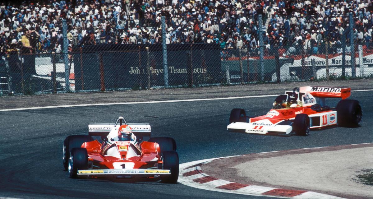 Il y a 45 ans… la 2e victoire de James Hunt en F1