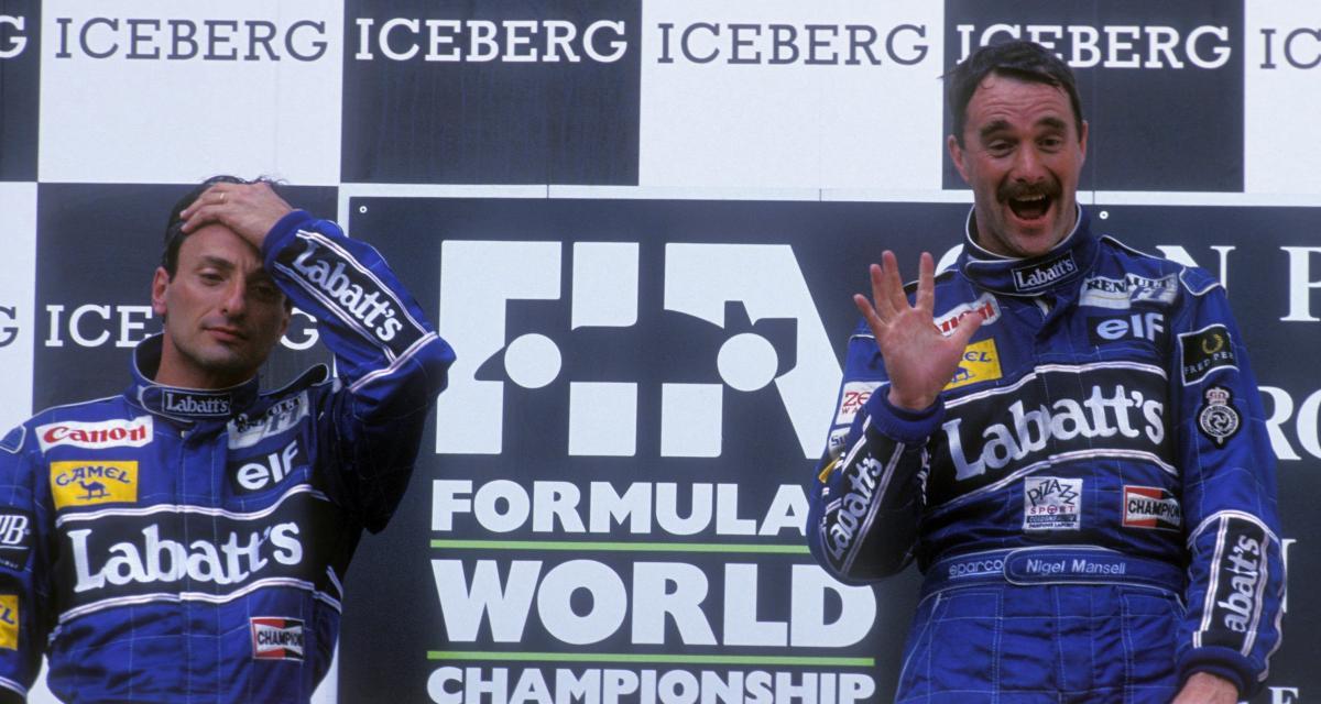 Il y a 29 ans… la 25e victoire de Nigel Mansell