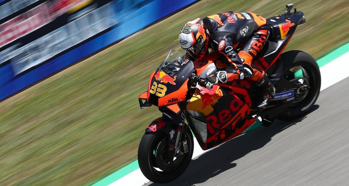 GP d'Espagne de MotoGP : la chute de Brad Binder lors des essais libres 3 en vidéo
