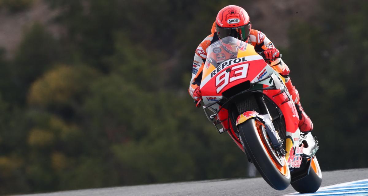 GP d'Espagne de MotoGP : la chute de Marc Marquez lors des essais libres 3 en vidéo