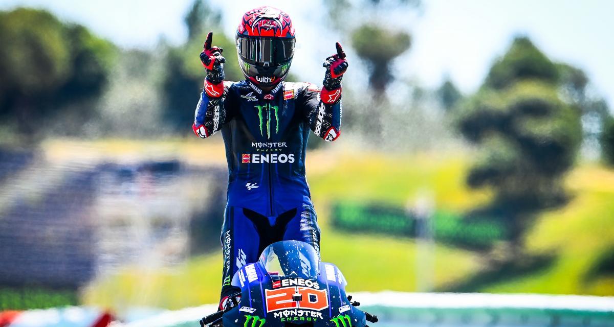 GP d'Espagne de MotoGP : la grille de départ