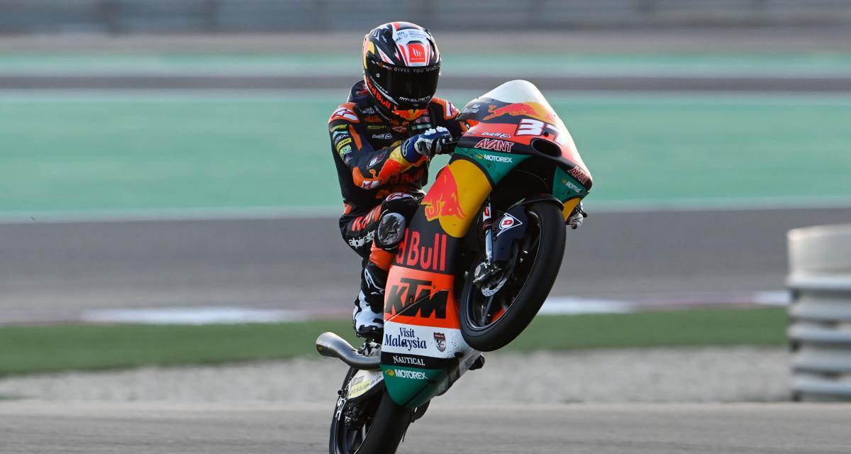 GP d'Espagne de Moto3 : le classement final