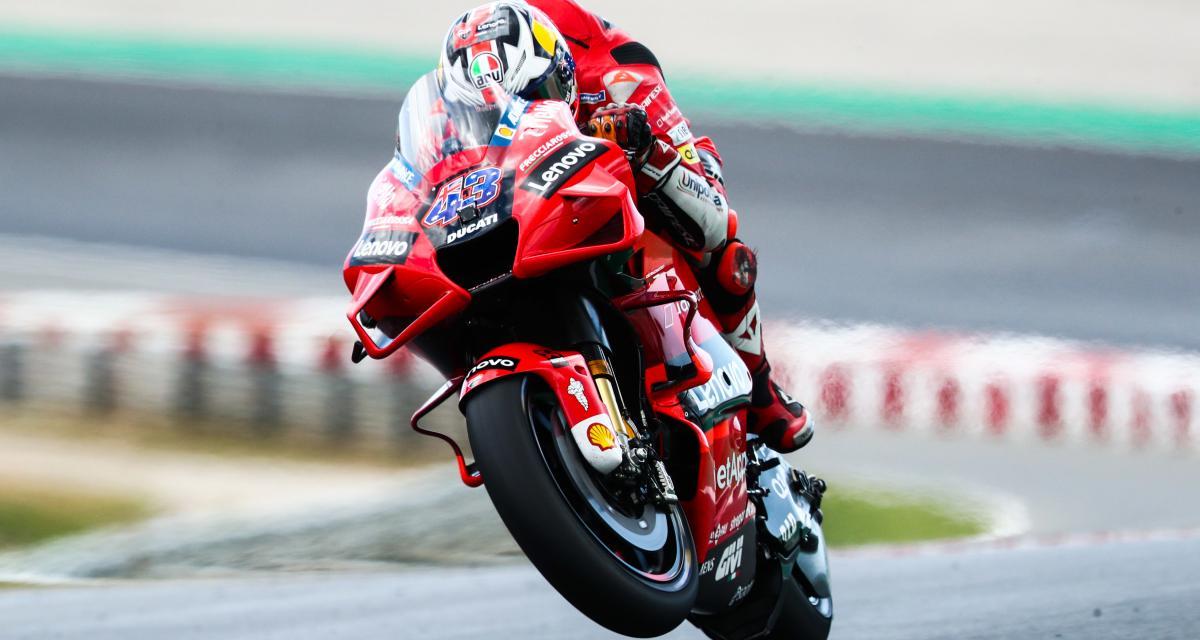GP d'Espagne de MotoGP : la vidéo du départ de la course
