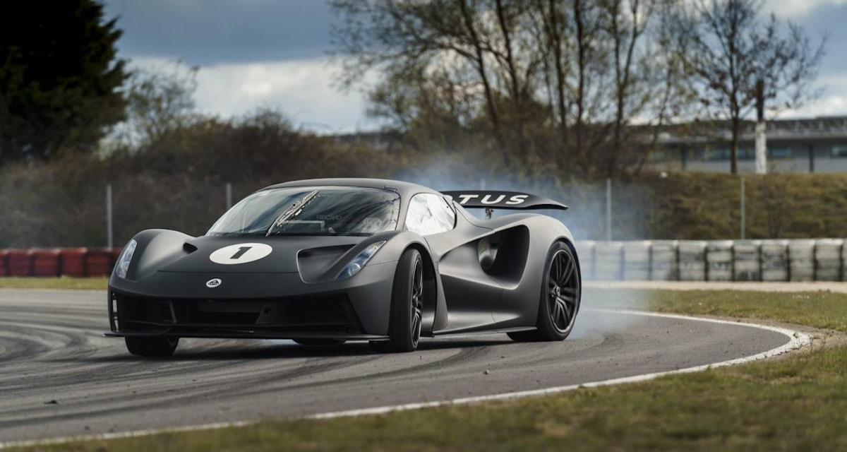 Lotus Evija (2021) : l'hypercar entre dans son dernier stade de développement
