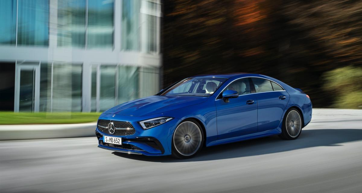 Nouvelle Mercedes CLS (2021) : les prix du restylage