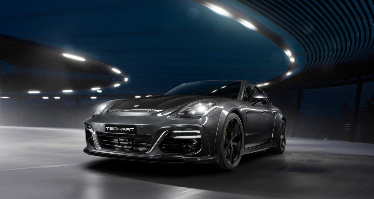 Porsche Panamera : de la belle à la bête grâce à Techart