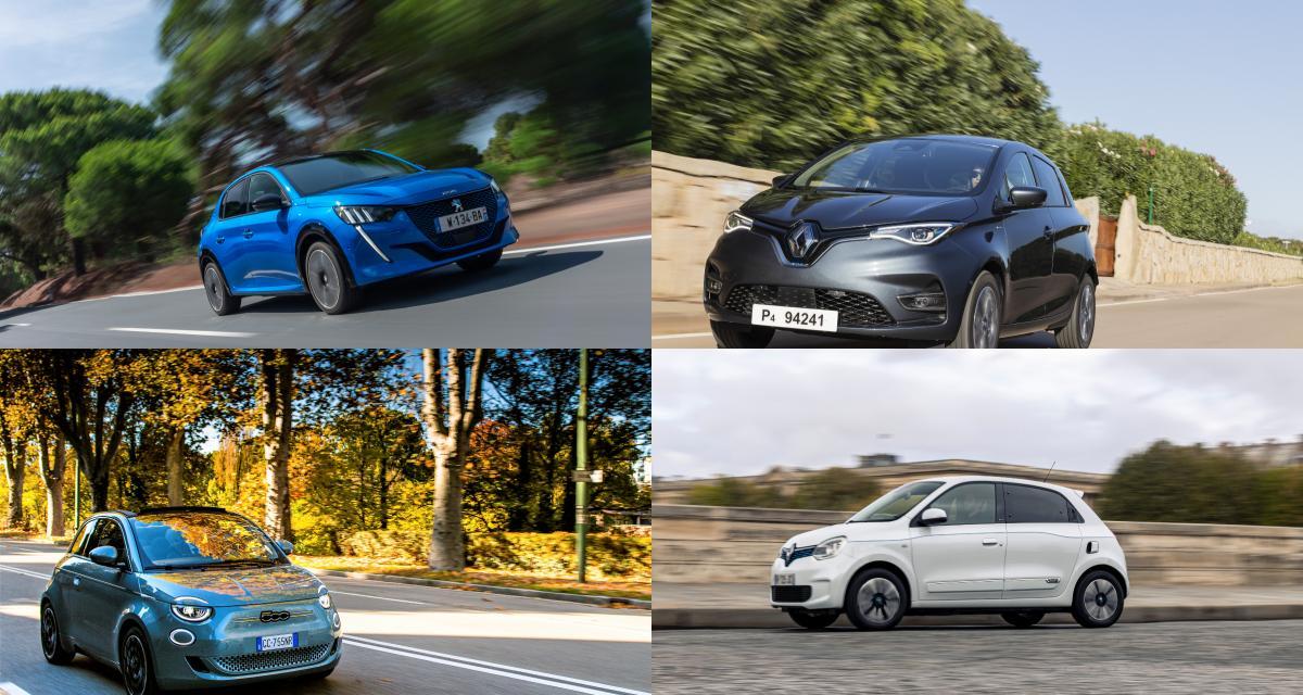 Top 10 des voitures électriques les plus vendues en France en avril 2021