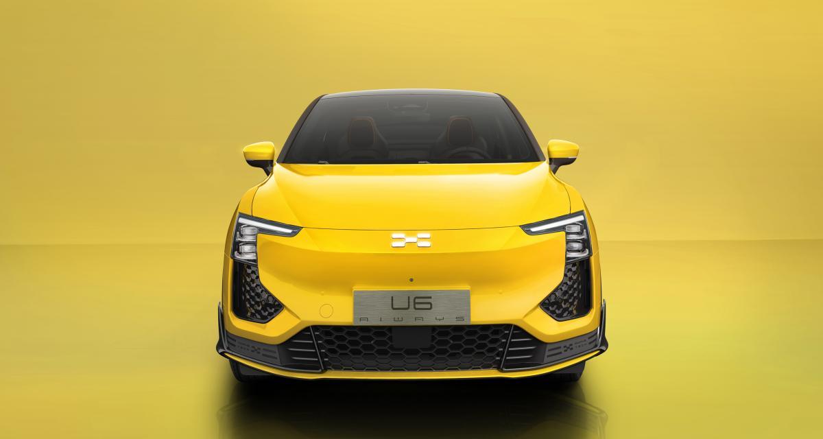 Aiways U6 (2021) : le nouveau crossover électrique chinois dévoile son look définitif