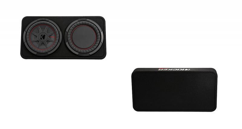 Kicker commercialise un caisson compact à radiateur passif