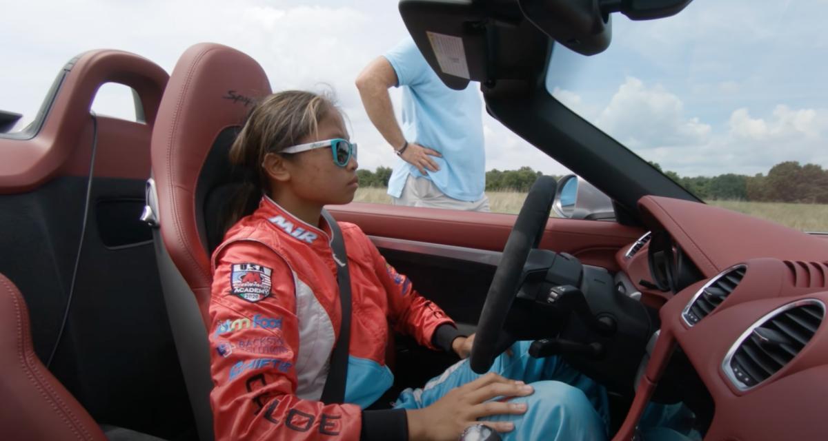Le saviez-vous : le record du slalom le plus rapide en voiture est détenu par une jeune fille de 16 ans