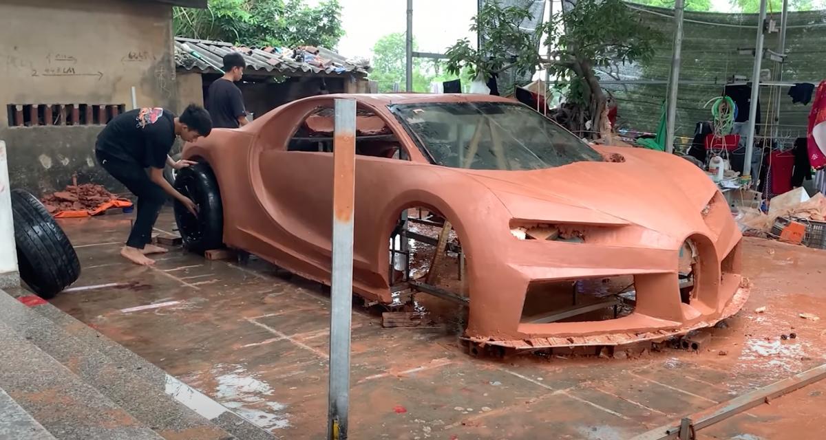 Trucs et astuces : vous n'avez pas un million d'euros pour une Bugatti ? Fabriquez-la vous-même... en argile