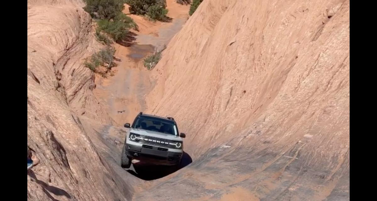 VIDEO - Ce Ford Bronco Sport grimpe la Hell's Gate avec une facilité déconcertante