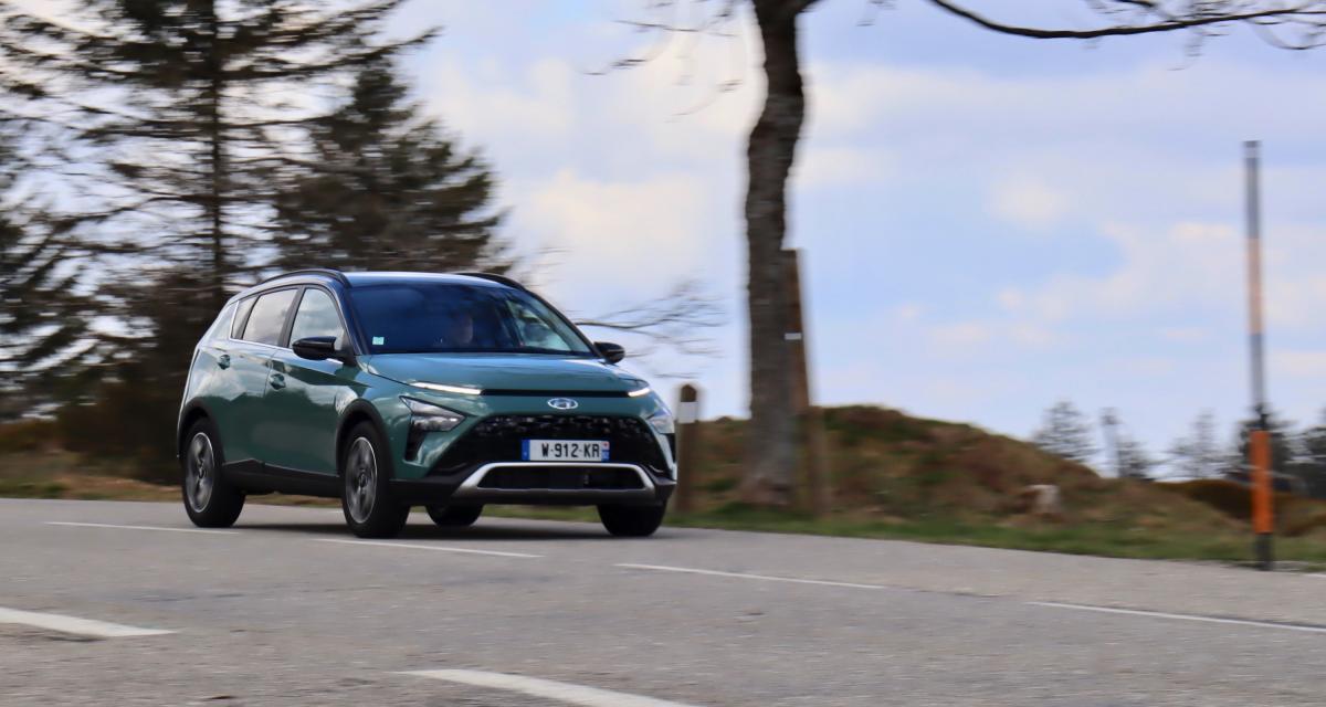 Essai du nouveau Hyundai Bayon (2021) : complément pour l'Europe