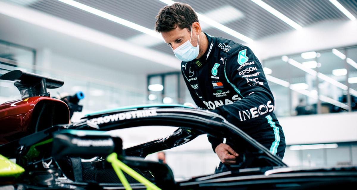 GP de France de F1 : Romain Grosjean prendra le volant d'une Mercedes pour des essais