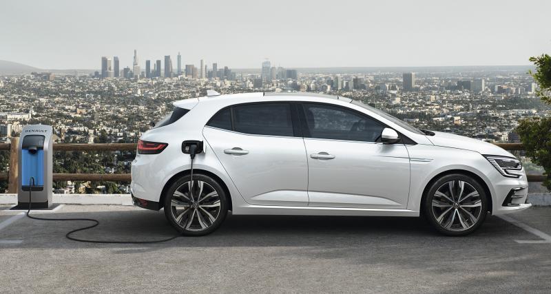 Renault Megane E-Tech hybride rechargeable (2021) : la compacte à partir de 37.300€