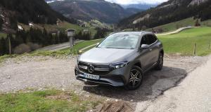 Essai du nouveau Mercedes EQA (2021) : nos photos du SUV compact germanique