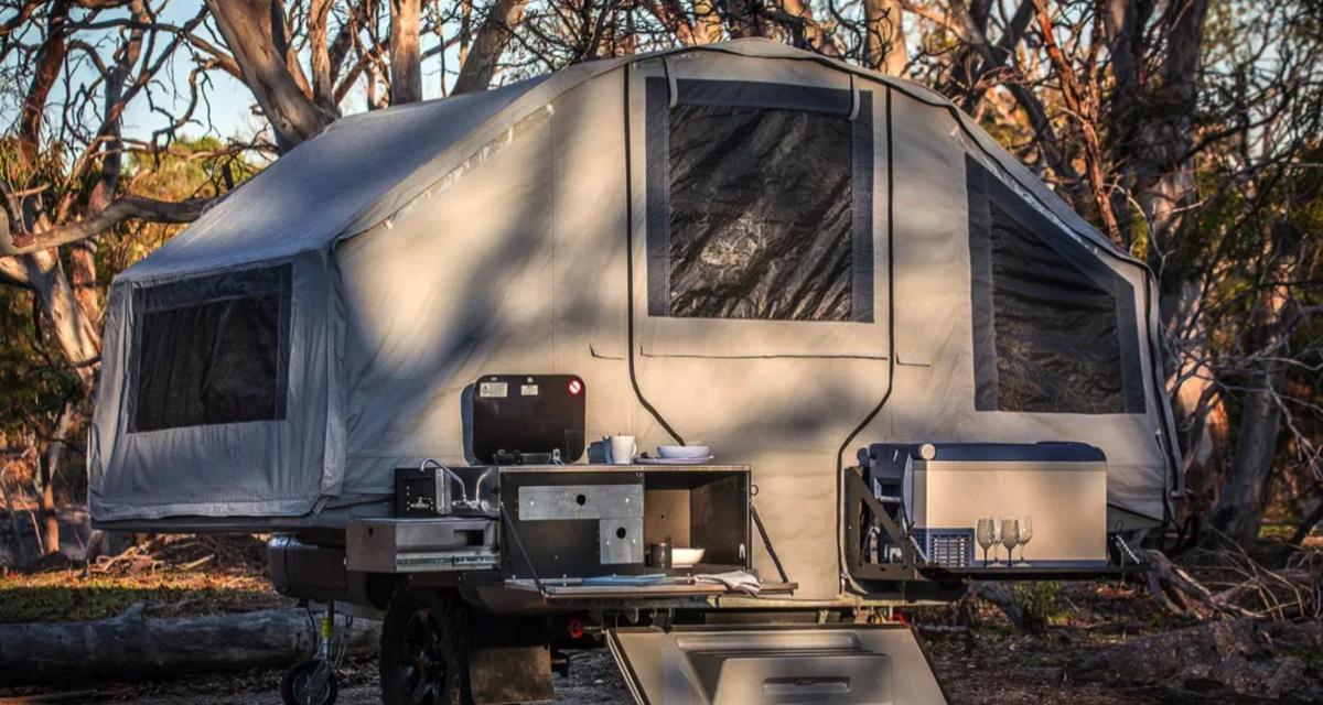 Camping-car : Kerfton Camper Trailer, la plus « convenient » des remorques