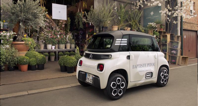 My Ami Cargo by Citroën : une solution de mobilité urbaine pour les professionnels