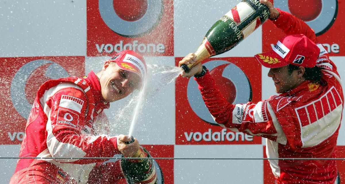 Il y a 15 ans… le 1er podium de Felipe Massa en F1