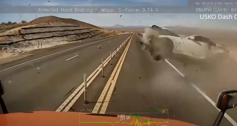 VIDEO - Mais comment tout le monde a pu s'en sortir dans cet accident spectaculaire ?