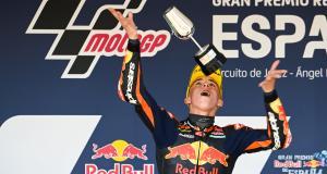 GP d'Espagne de Moto3 : les dépassements d'Acosta, les chutes des KTM... le dernier tour de la course en vidéo