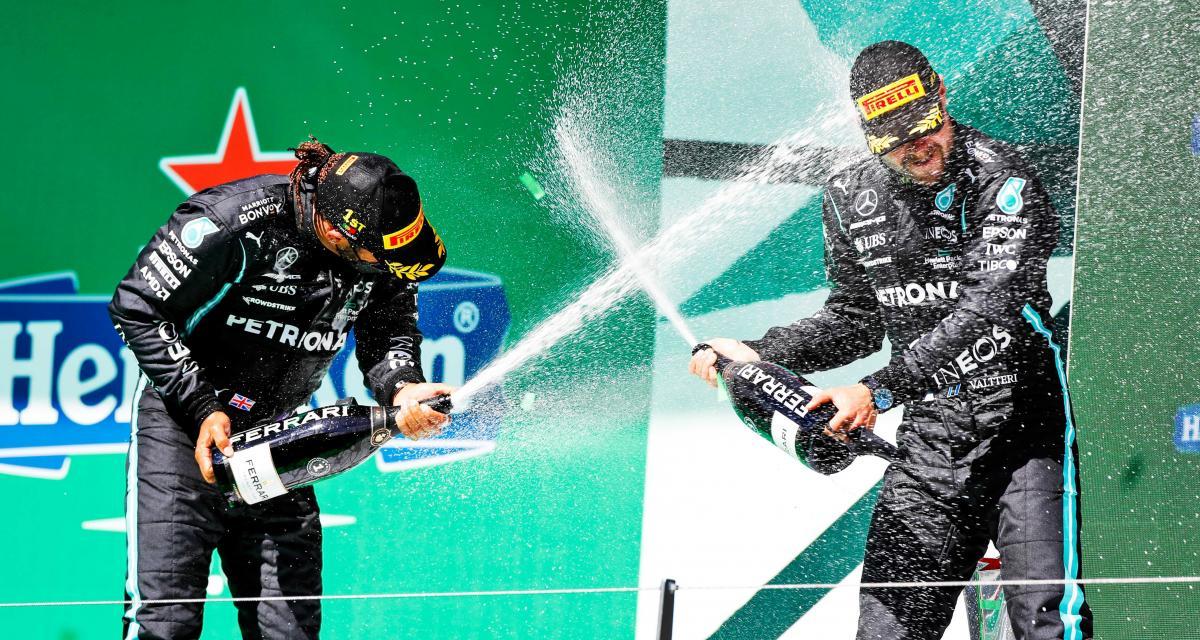 Mercedes-AMG : Hamilton au secours de Bottas