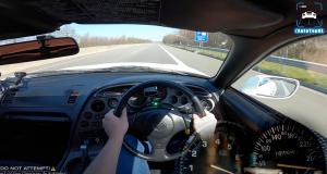 VIDEO - Cette Toyota Supra boostée présente une accélération comme vous n'en avez jamais vu