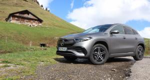 Essai du Mercedes EQA : passage à l'électricité, image préservée